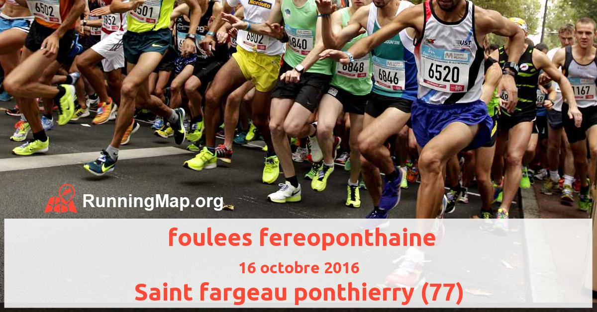 foulees fereoponthaine
