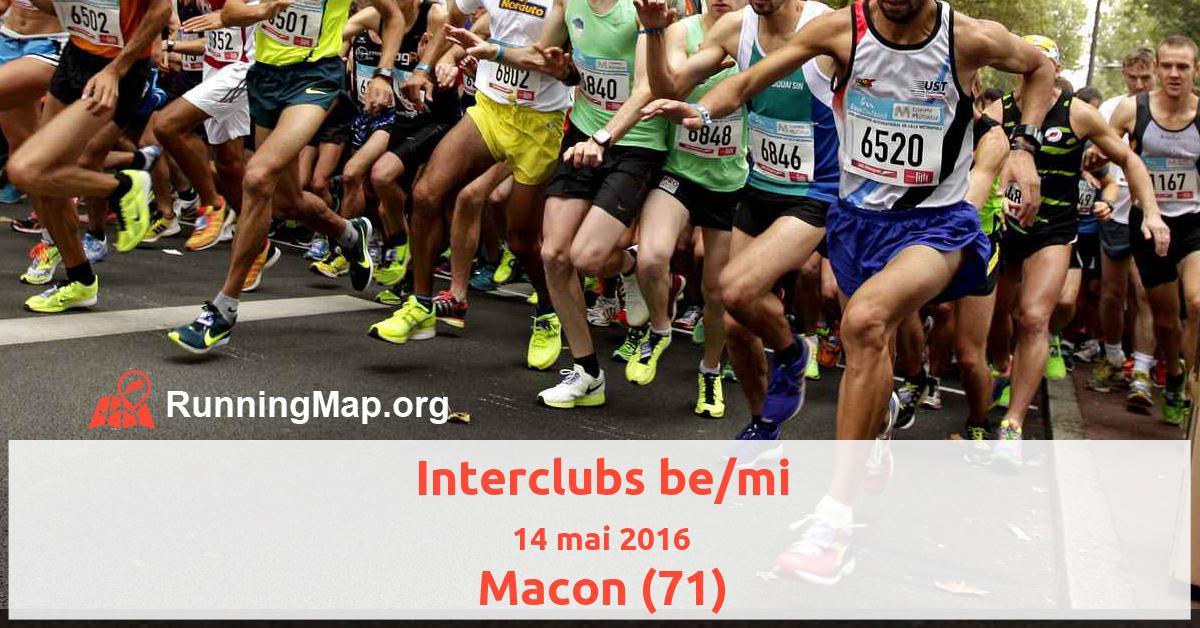 Interclubs be/mi