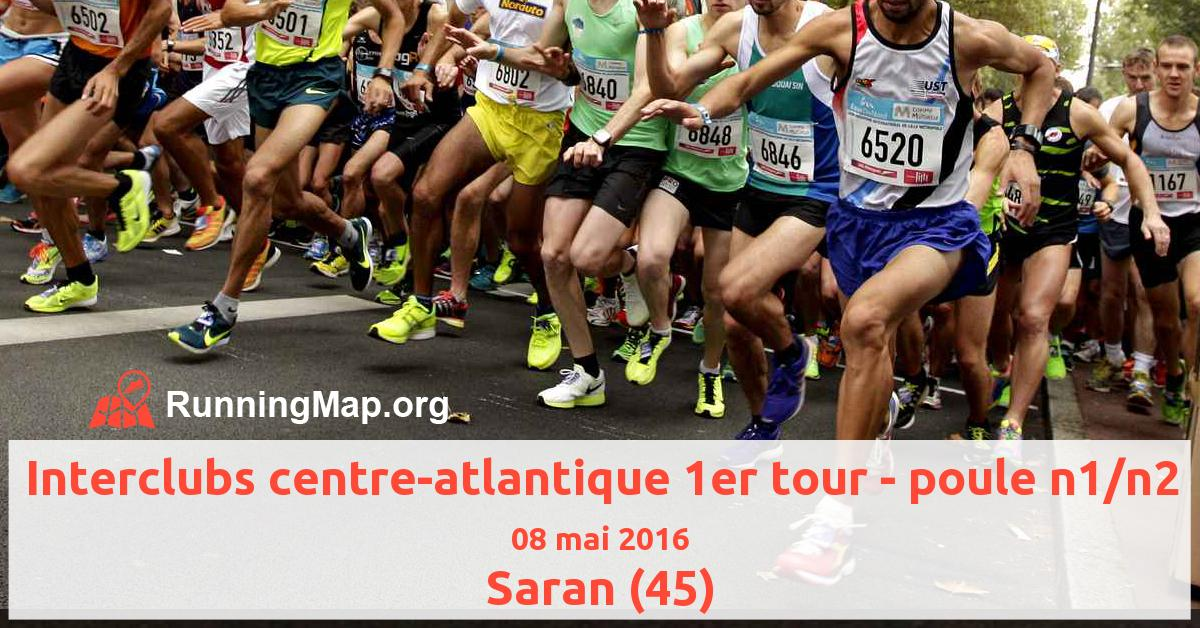 Interclubs centre-atlantique 1er tour - poule n1/n2