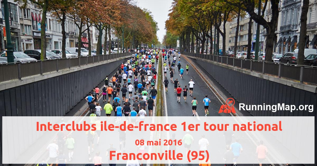 Interclubs ile-de-france 1er tour national
