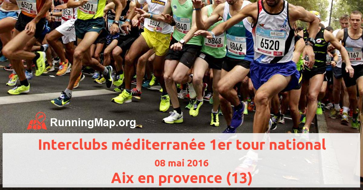 Interclubs méditerranée 1er tour national