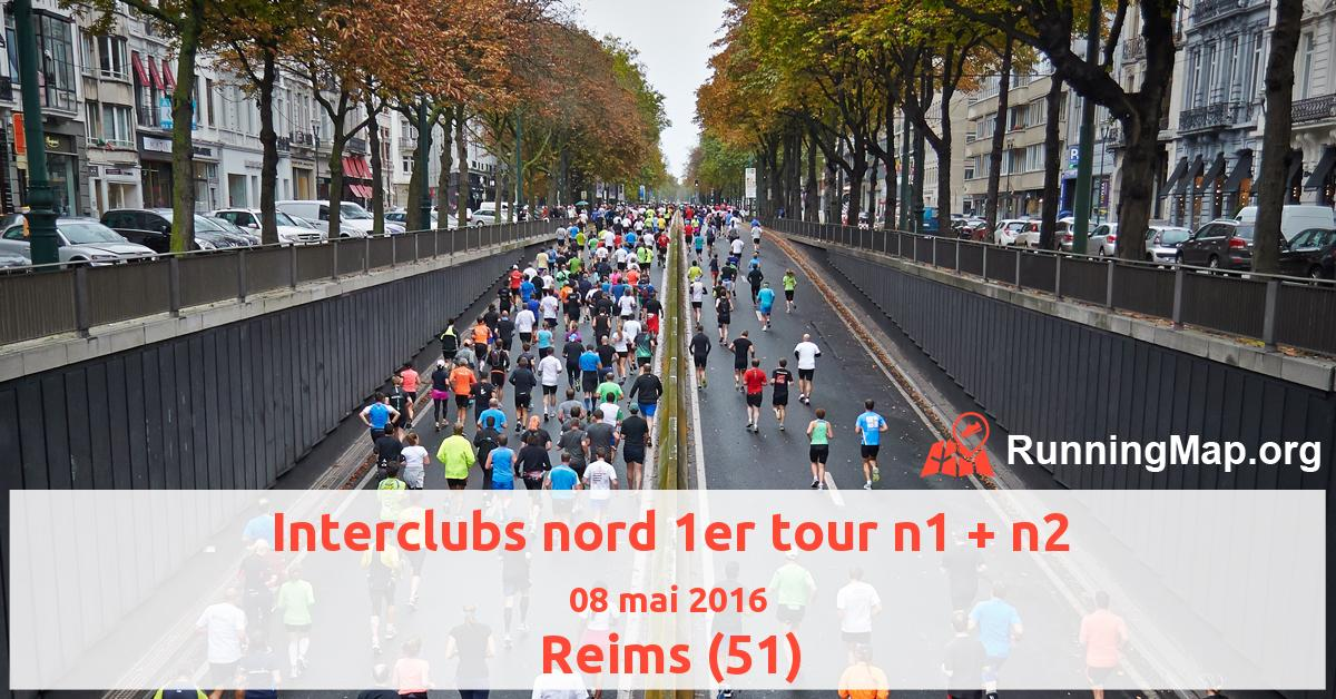 Interclubs nord 1er tour n1 + n2