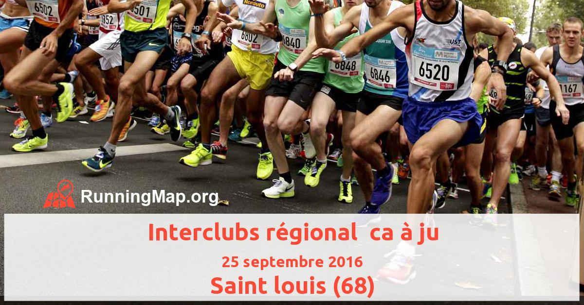 Interclubs régional  ca à ju