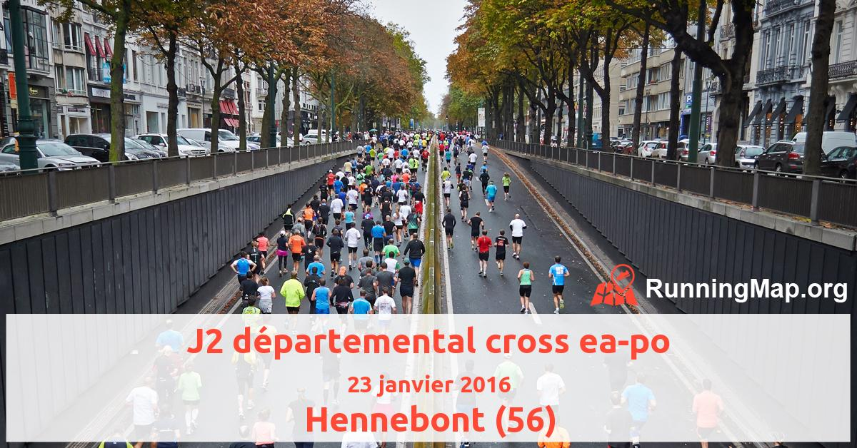 J2 départemental cross ea-po