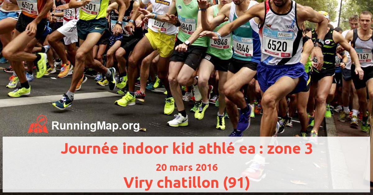 Journée indoor kid athlé ea : zone 3