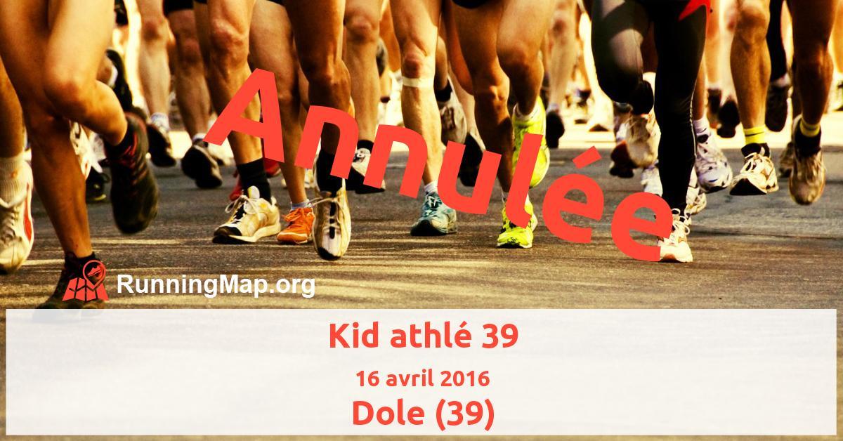 Kid athlé 39