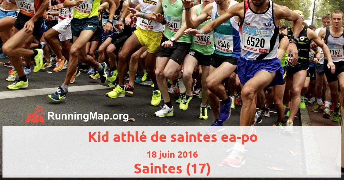Kid athlé de saintes ea-po