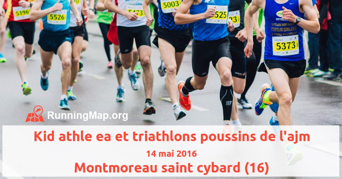Kid athle ea et triathlons poussins de l'ajm