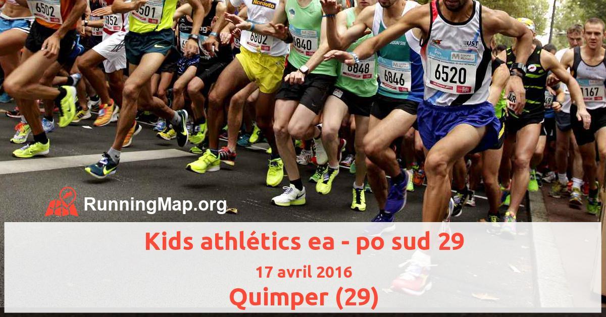 Kids athlétics ea - po sud 29