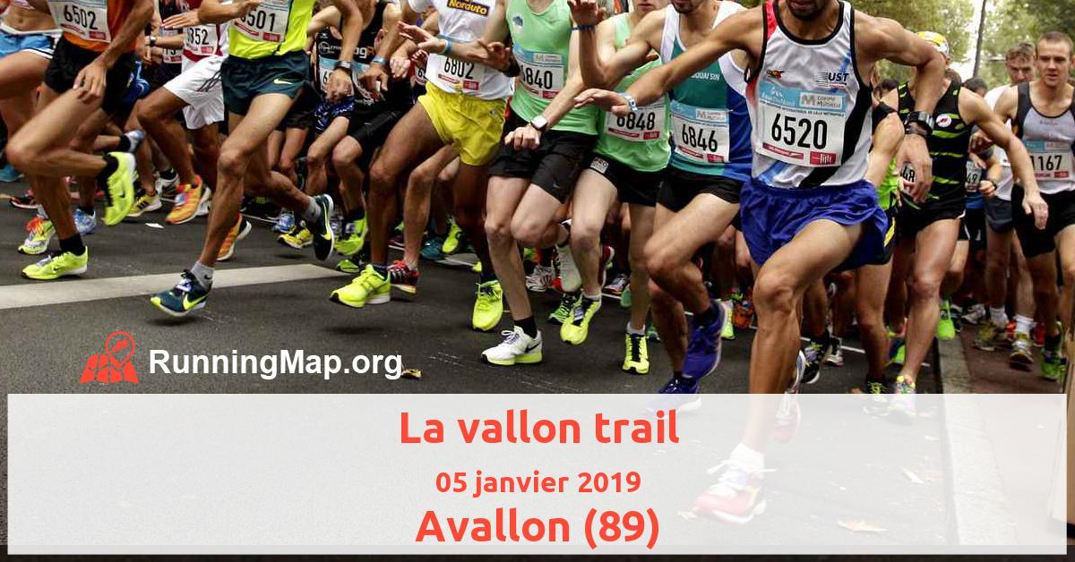 La vallon trail