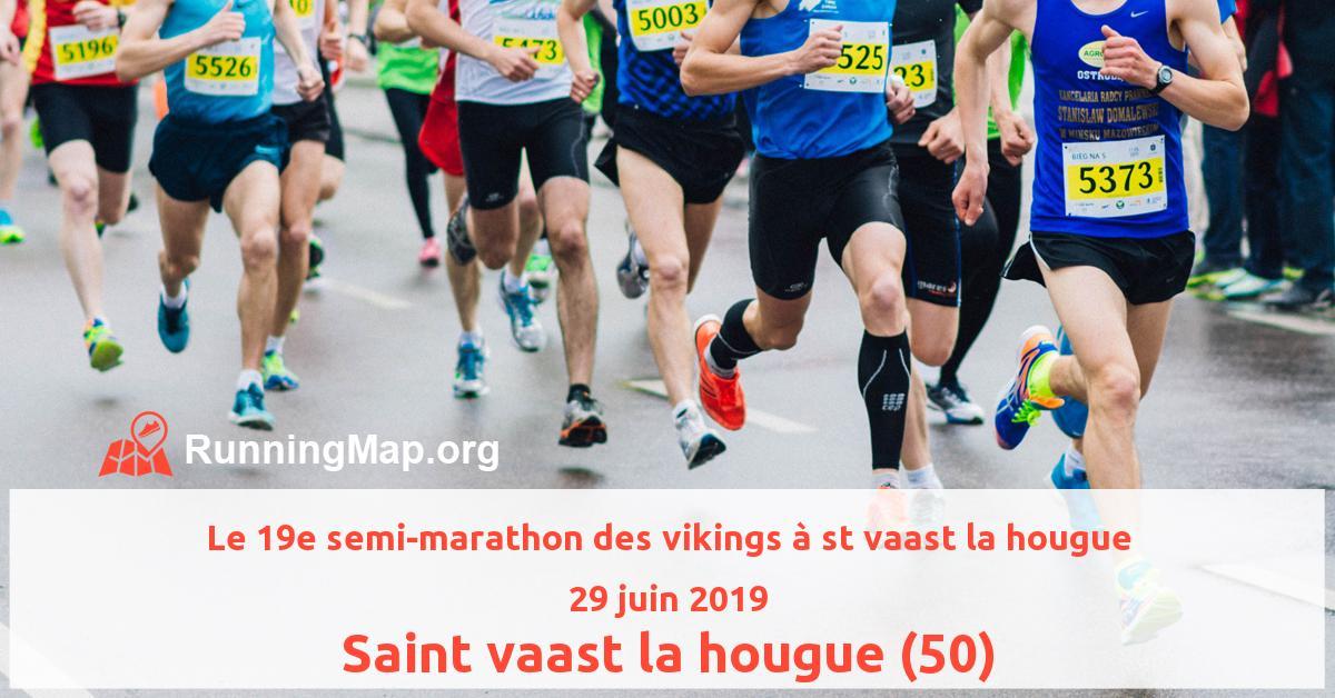 Le 19e semi-marathon des vikings à st vaast la hougue
