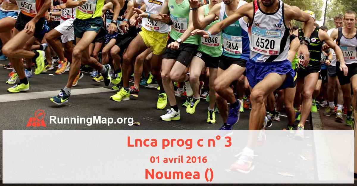 Lnca prog c n° 3