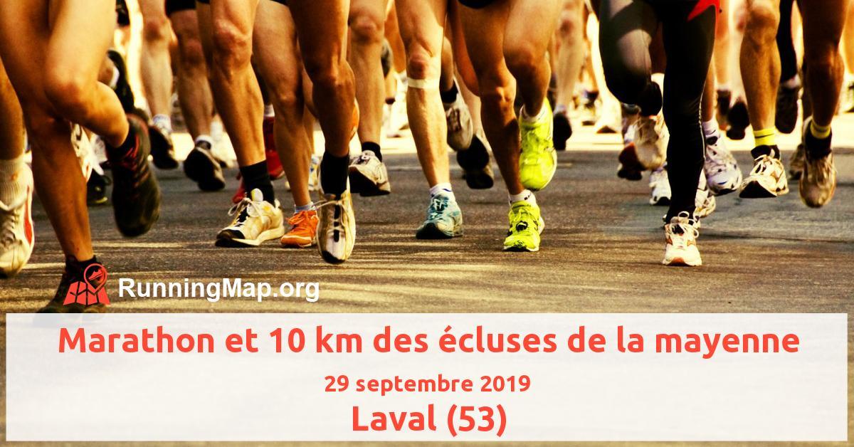 Marathon et 10 km des écluses de la mayenne