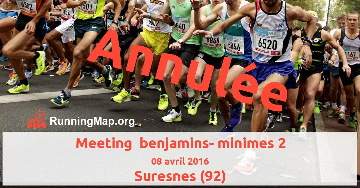 Meeting  benjamins- minimes 2