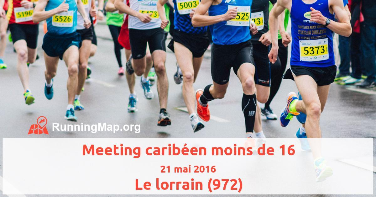 Meeting caribéen moins de 16