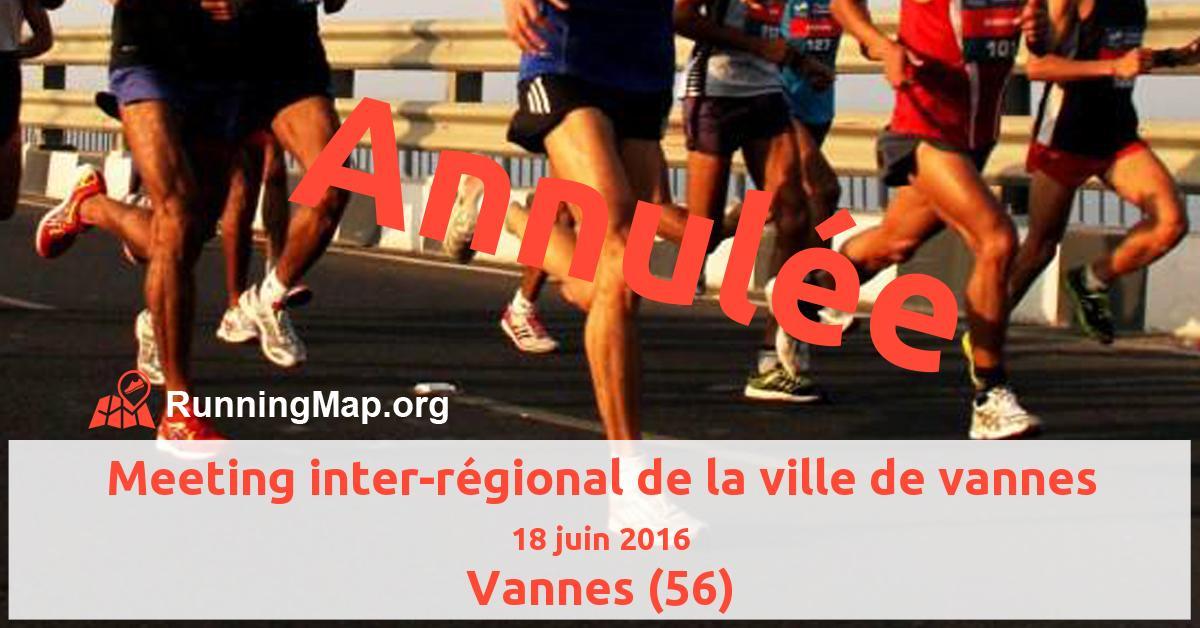 Meeting inter-régional de la ville de vannes
