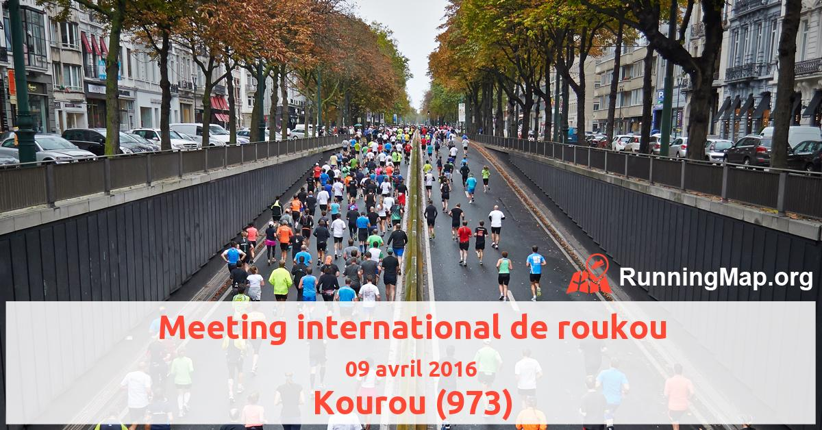 Meeting international de roukou