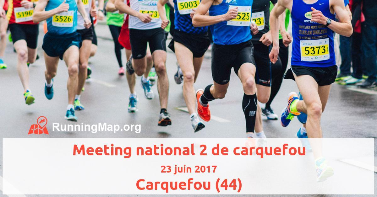 Meeting national 2 de carquefou