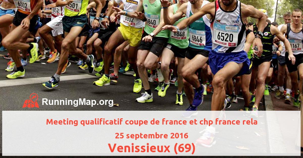 Meeting qualificatif coupe de france et chp france rela