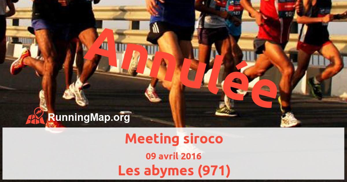 Meeting siroco