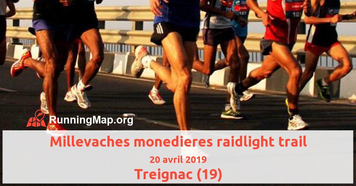 Millevaches monedieres raidlight trail