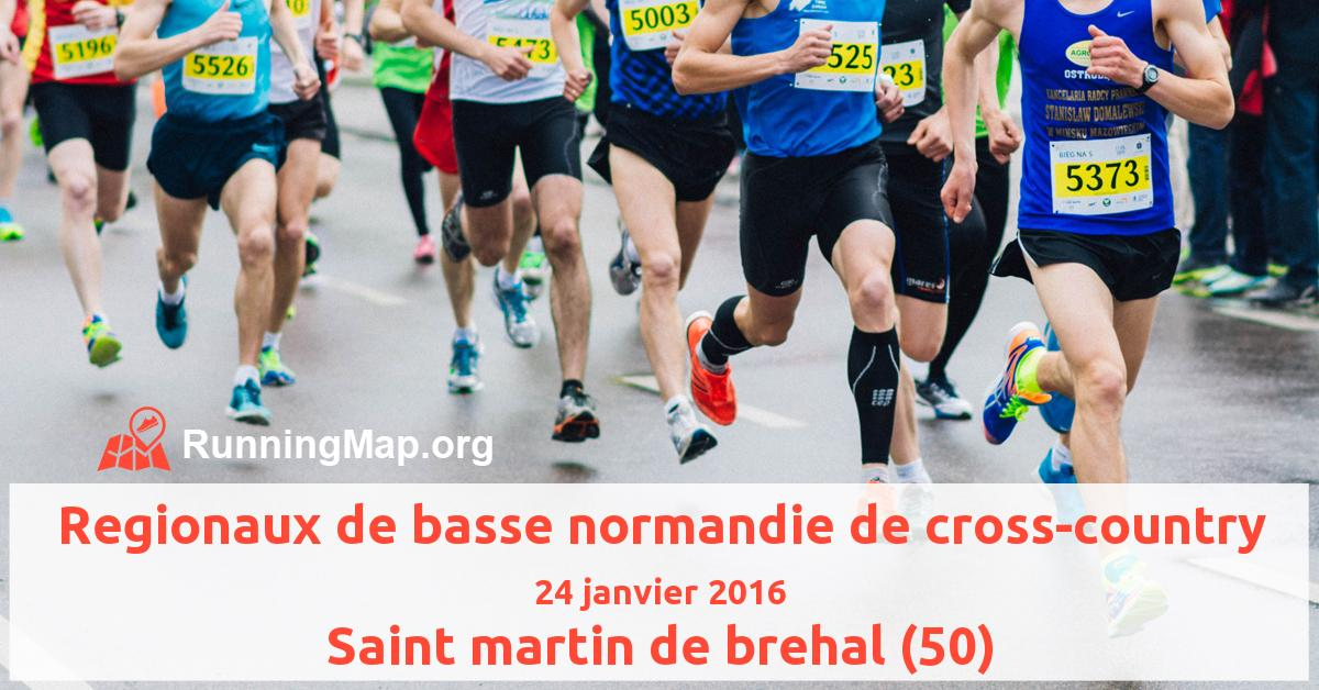 Regionaux de basse normandie de cross-country