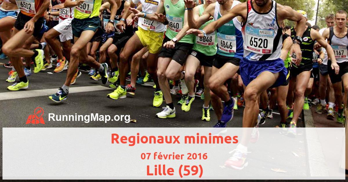 Regionaux minimes