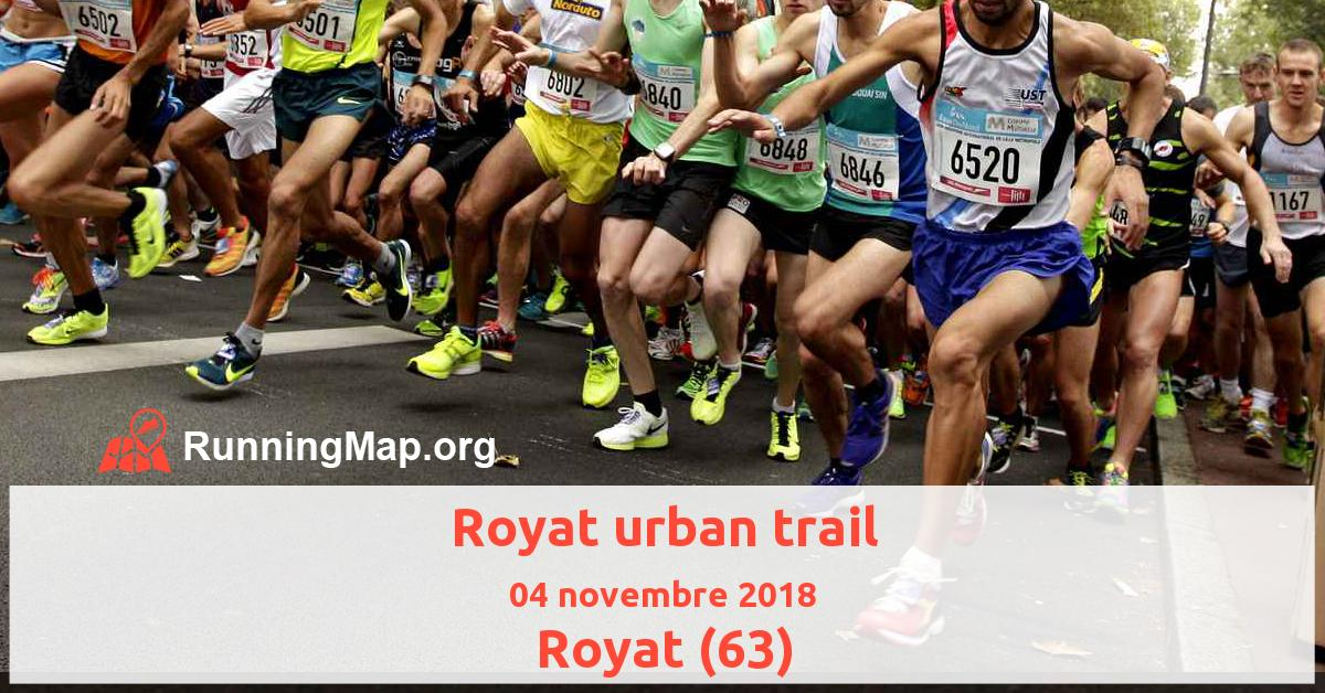 Royat urban trail
