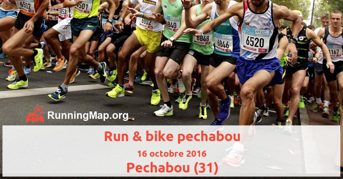 Run & bike pechabou