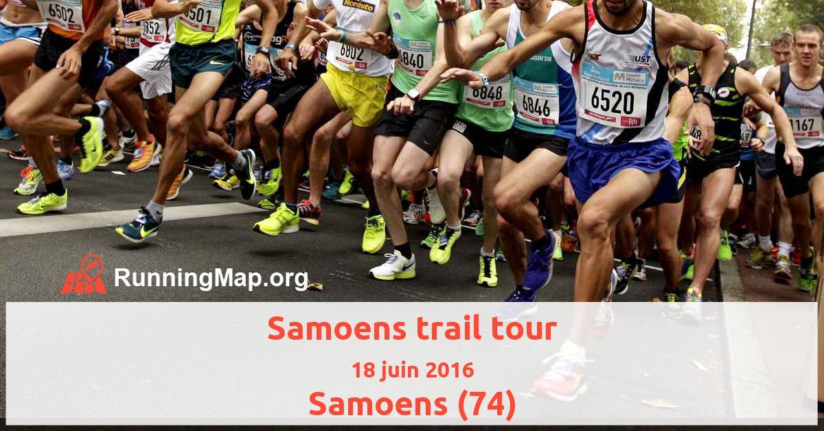 Samoens trail tour