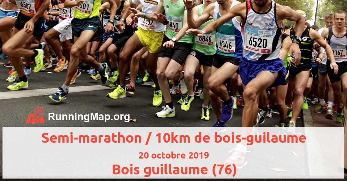 Semi-marathon / 10km de bois-guilaume