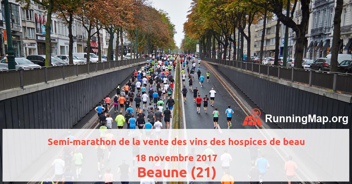 Semi-marathon de la vente des vins des hospices de beau