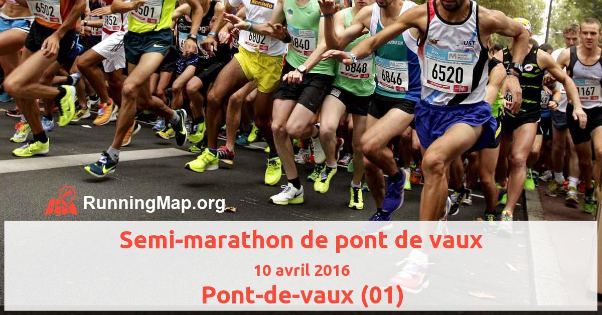Semi-marathon de pont de vaux