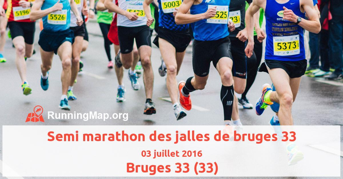 Semi marathon des jalles de bruges 33