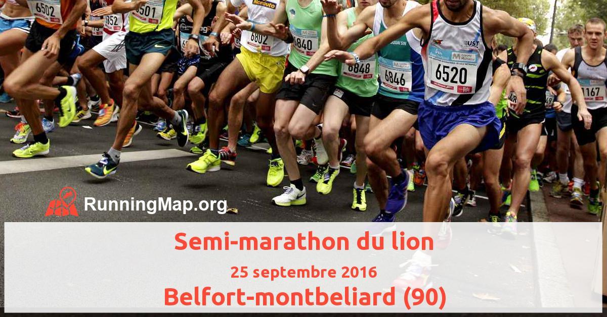 Semi-marathon du lion