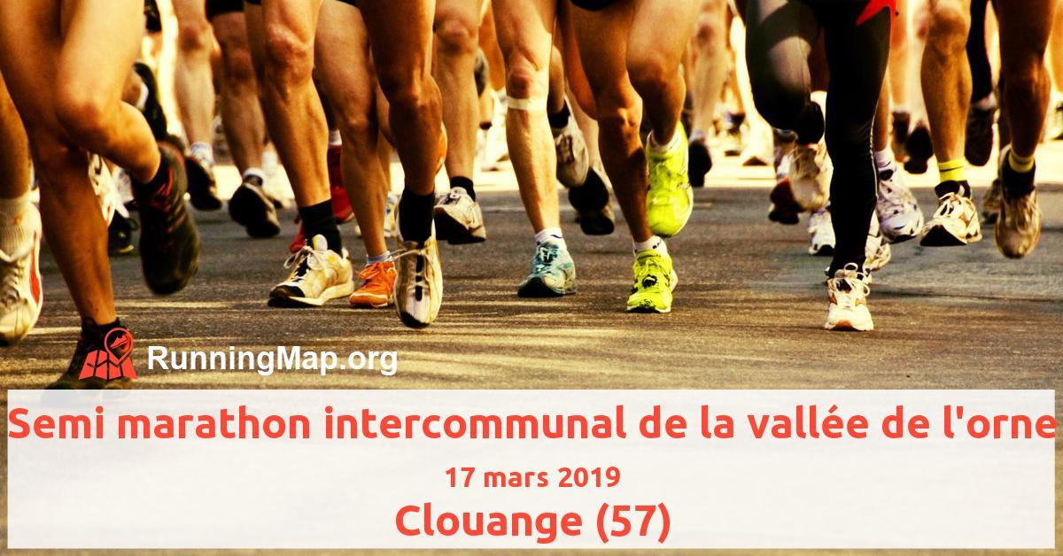 Semi marathon intercommunal de la vallée de l'orne
