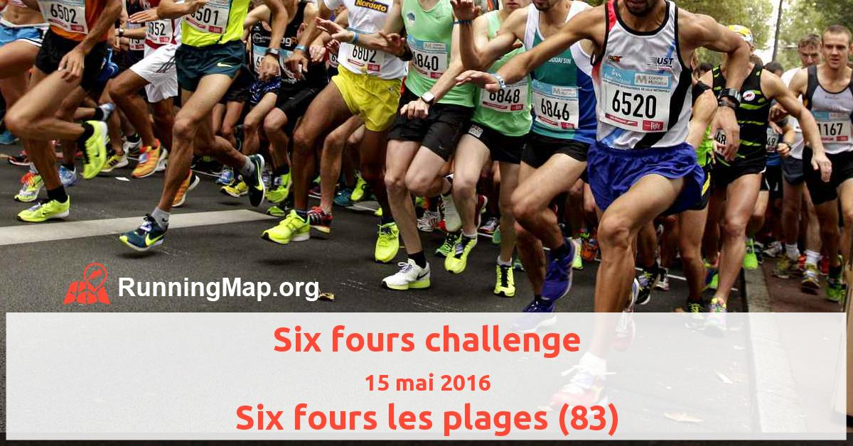 Six fours challenge