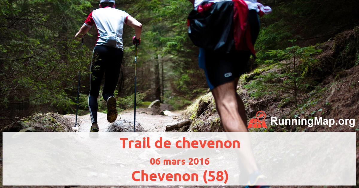 Trail de chevenon