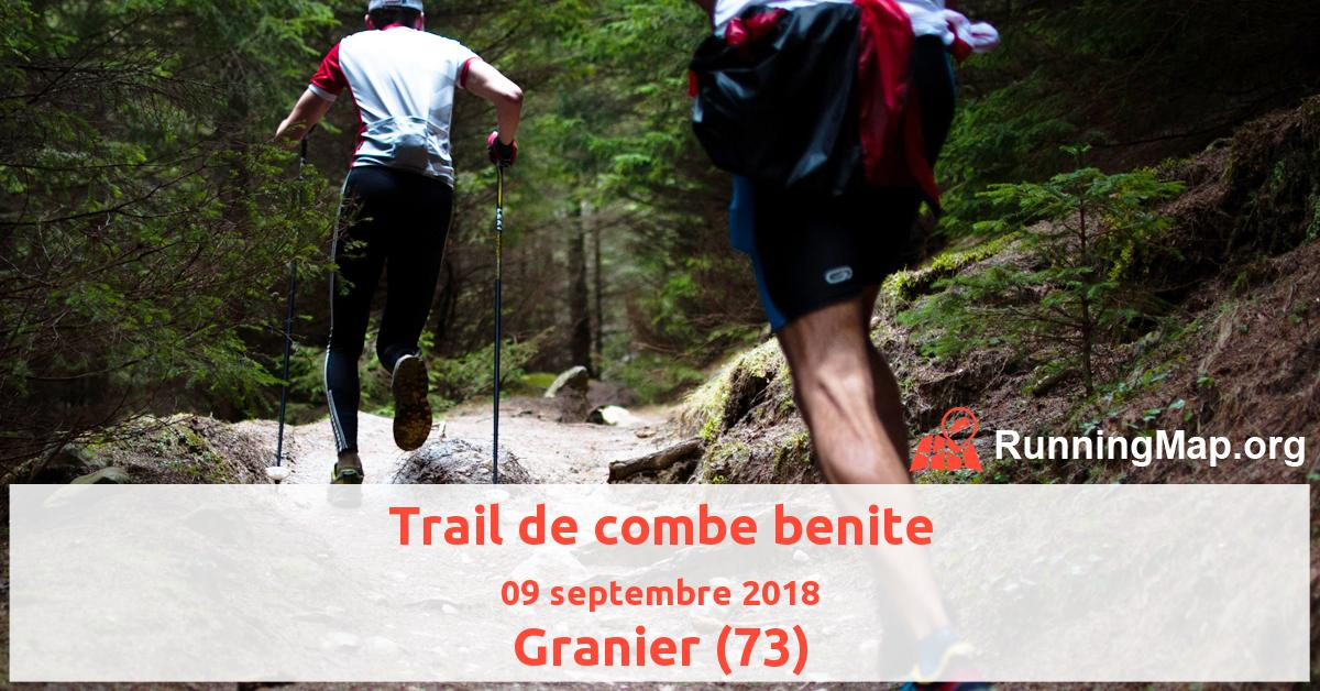 Trail de combe benite