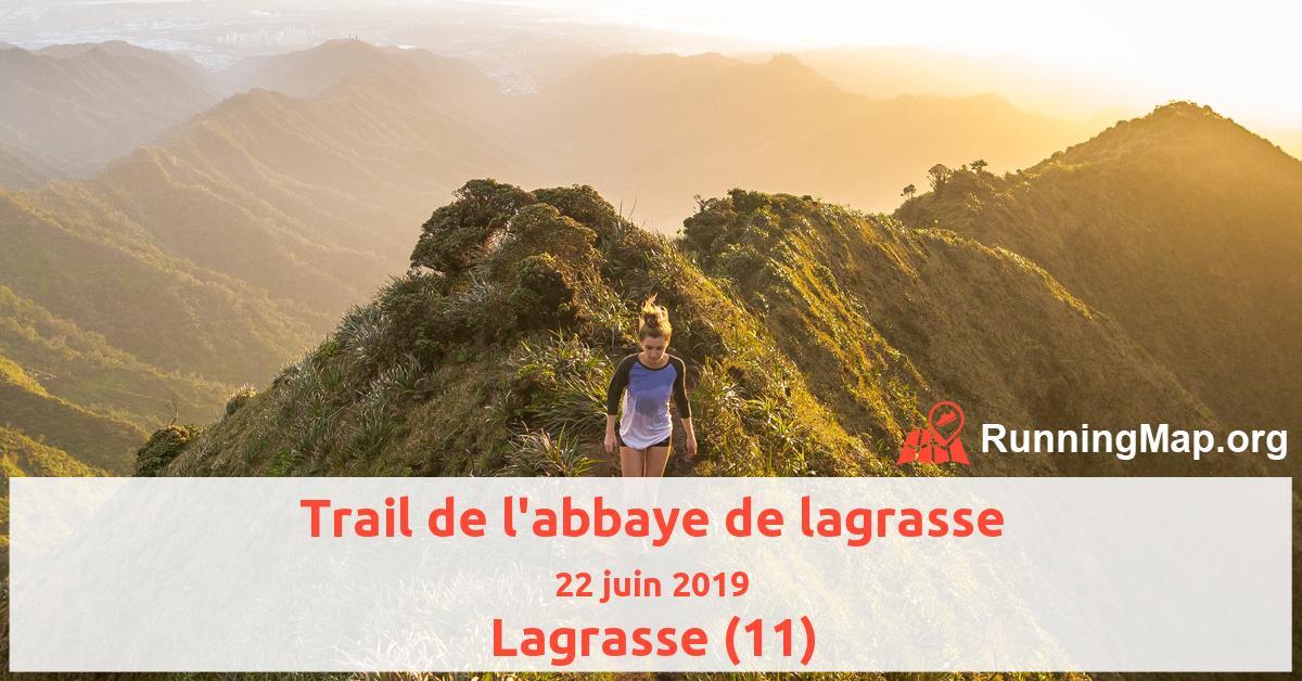 Trail de l'abbaye de lagrasse