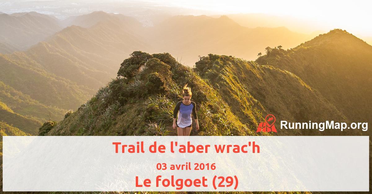 Trail de l'aber wrac'h