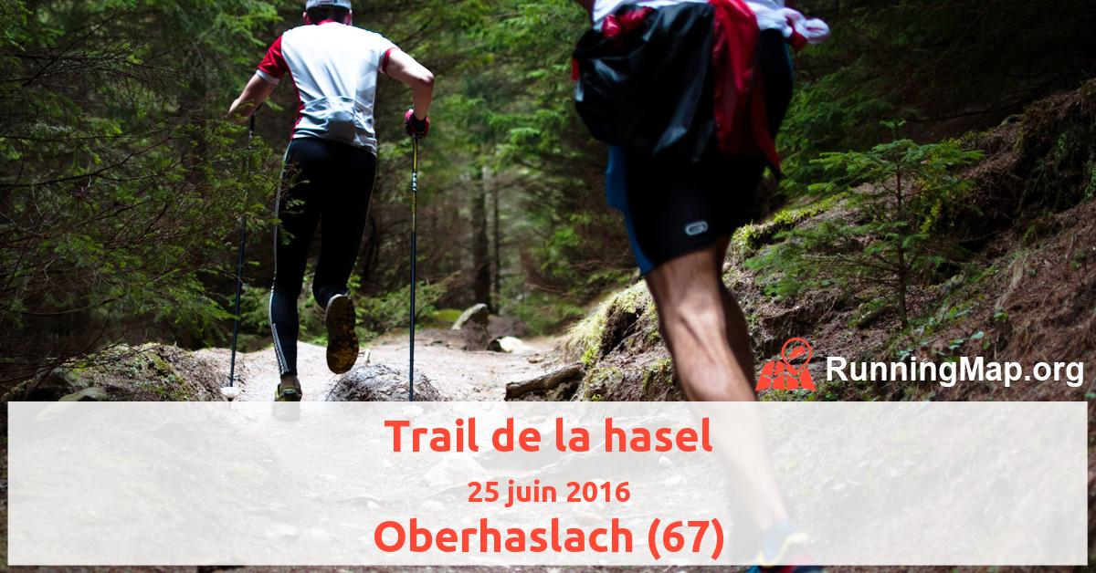 Trail de la hasel