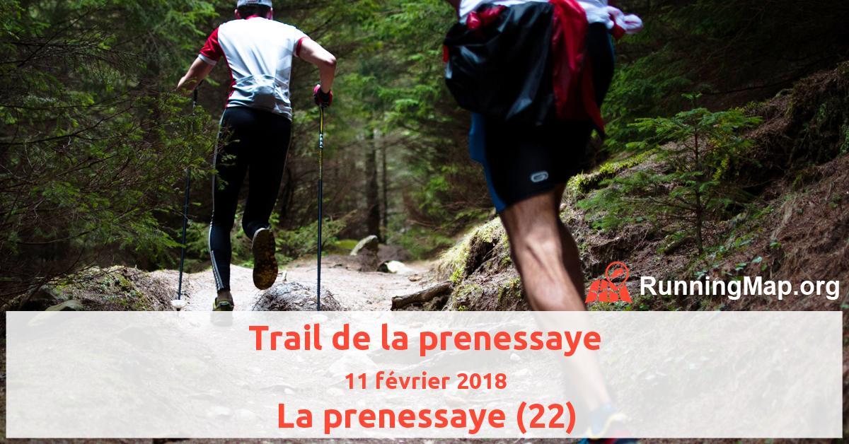 Trail de la prenessaye