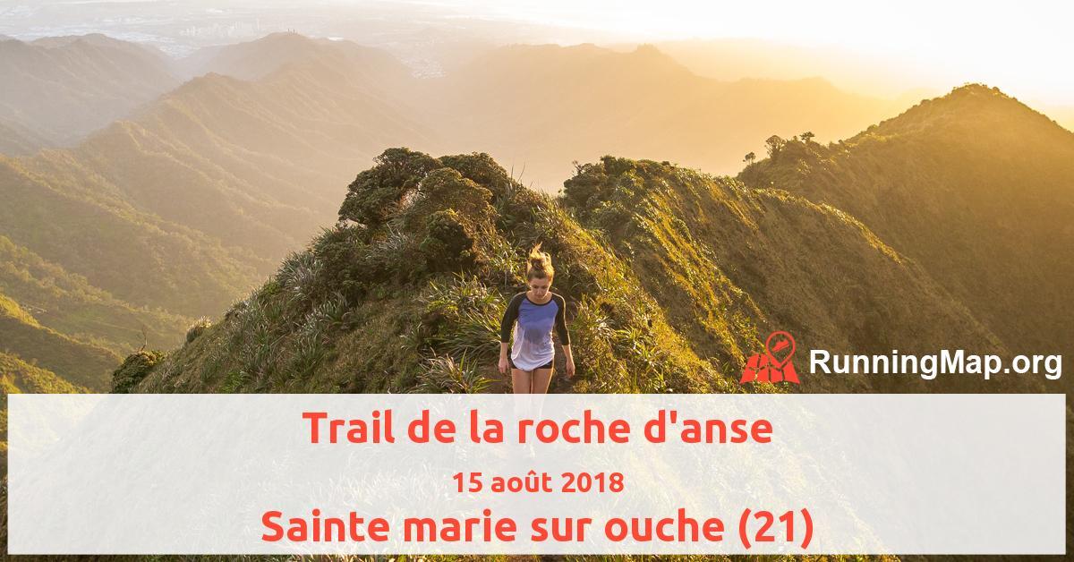 Trail de la roche d'anse