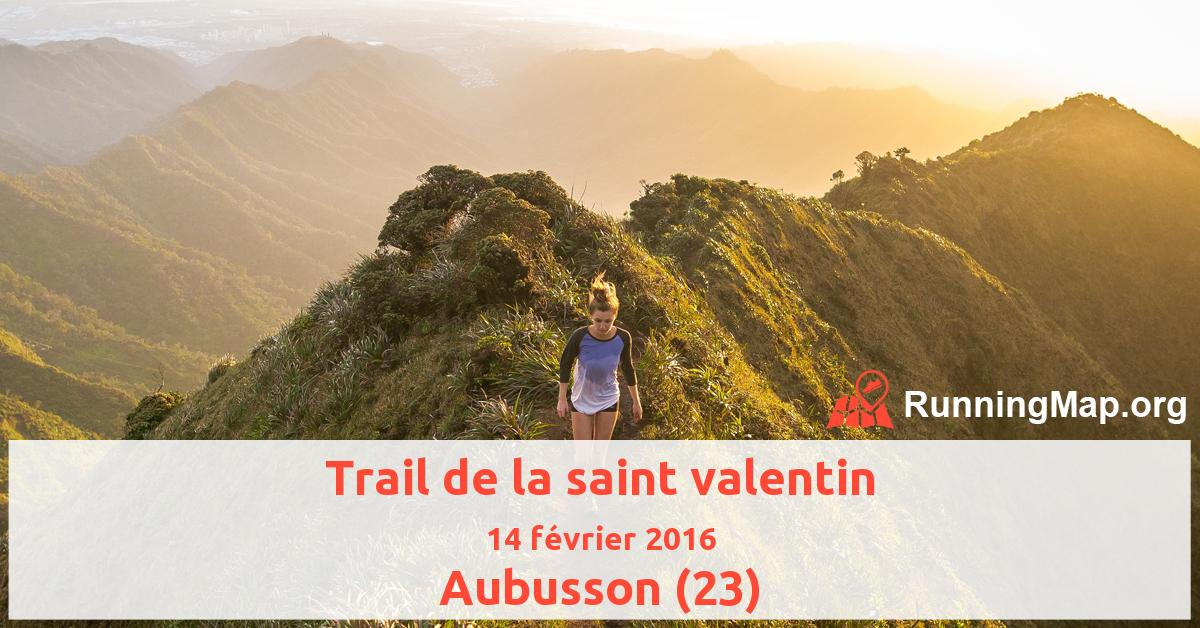 Trail de la saint valentin