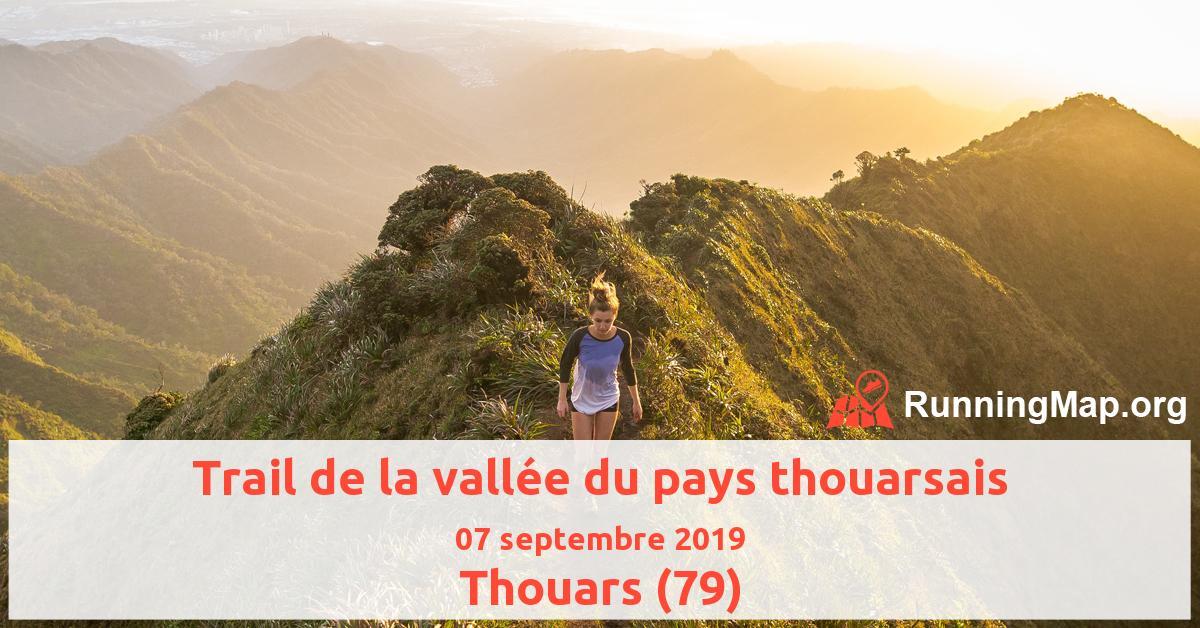 Trail de la vallée du pays thouarsais