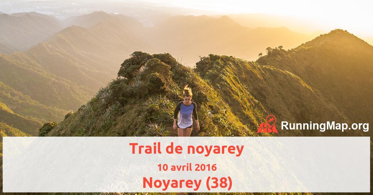 Trail de noyarey