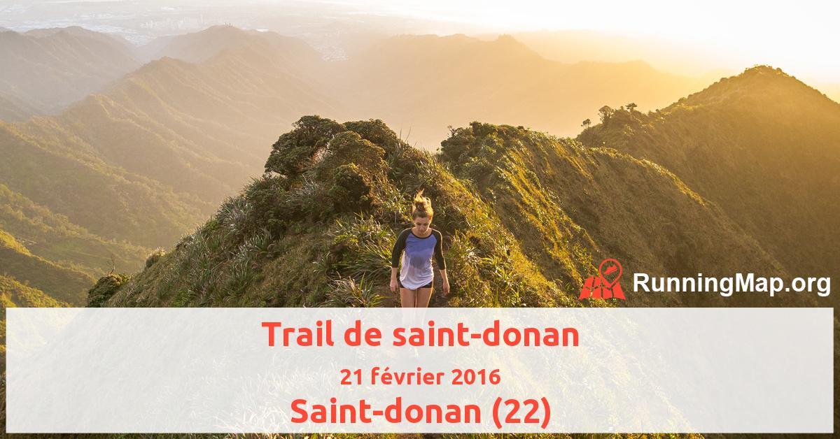 Trail de saint-donan
