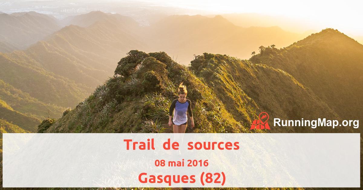 Trail  de  sources
