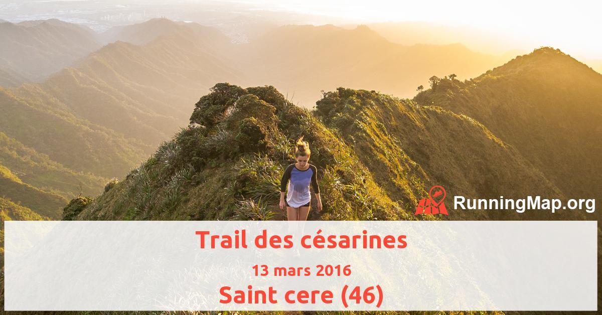 Trail des césarines